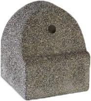 belediye tipi mozaikli beton mantar duba