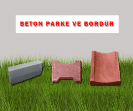 Beton Parke ve Bordür