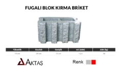Fugalı Kırma Blok Briket